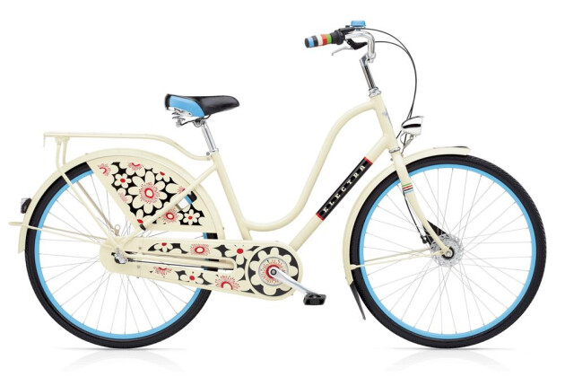 Hollandrad Electra Bicycle Amsterdam Bloom 3i Ladies' Cream 2019