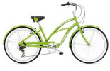 Cruiser-Bike Electra Bicycle Cruiser Lux 7D Ladies' Green Metallic