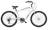 Cruiser-Bike Electra Bicycle Cruiser Lux 7D Men's Silver