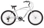 Cruiser-Bike Electra Bicycle Cruiser Lux 7D Men's Silver