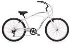 Cruiser-Bike Electra Bicycle Cruiser 7D Men's Silver