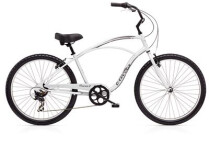 Cruiser-Bike Electra Bicycle Cruiser 7D Men's Silver