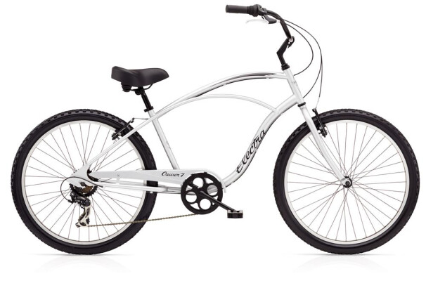 Cruiser-Bike Electra Bicycle Cruiser 7D Men's Silver 2019