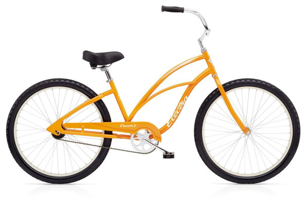 Cruiser-Bike Electra Bicycle Cruiser 1 Ladies' Orange 2019