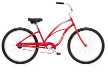 Cruiser-Bike Electra Bicycle Cruiser 1 Ladies' Red