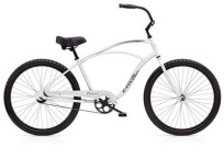 Cruiser-Bike Electra Bicycle Cruiser 1 Men's Silver