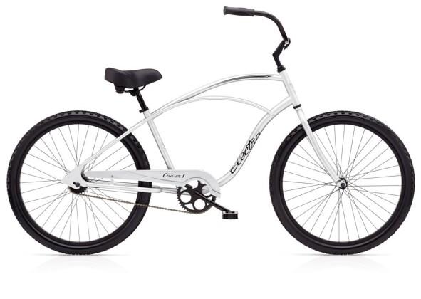 Cruiser-Bike Electra Bicycle Cruiser 1 Men's Silver 2019