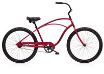 Cruiser-Bike Electra Bicycle Cruiser 1 Men's Red Metallic