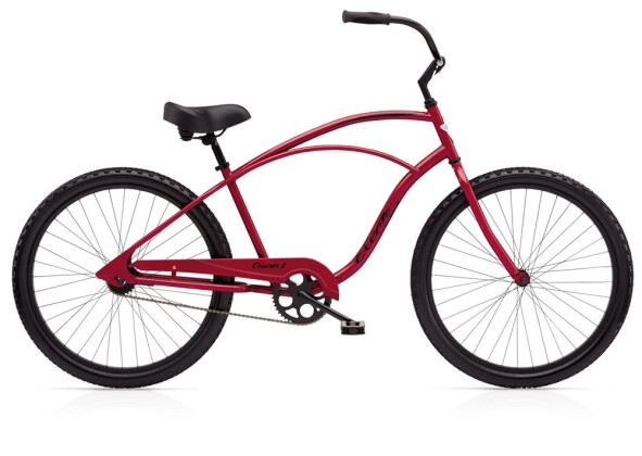 Cruiser-Bike Electra Bicycle Cruiser 1 Men's Red Metallic 2019
