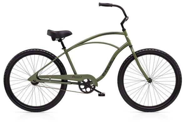 Cruiser-Bike Electra Bicycle Cruiser 1 Men's Matte Khaki 2019