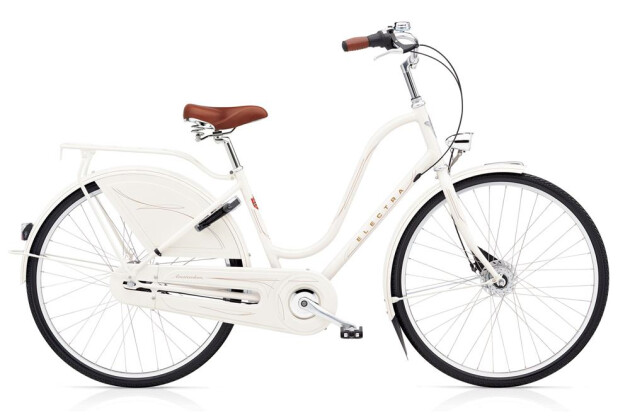 Hollandrad Electra Bicycle Amsterdam Royal 8i Ladies' Pearl White 2019