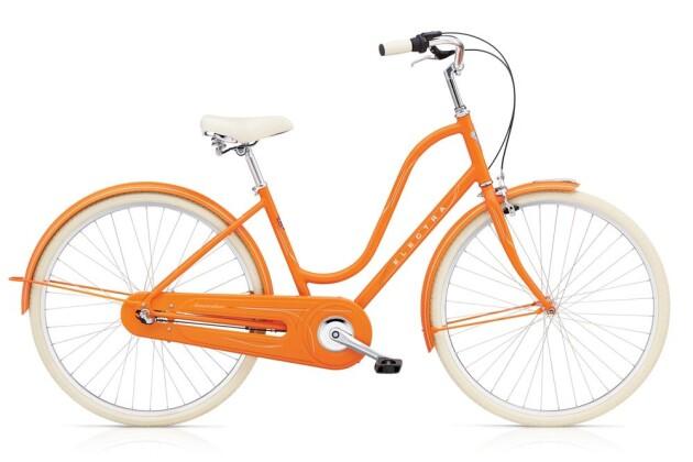 Hollandrad Electra Bicycle Amsterdam Original 3i Ladies' Orange 2019