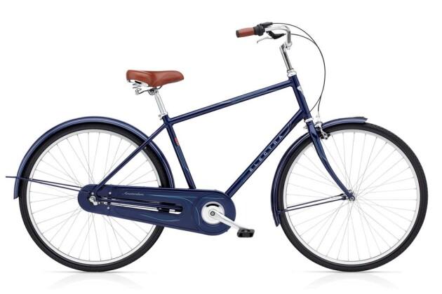 Hollandrad Electra Bicycle Amsterdam Original 3i Men's Dark Blue Metallic 2019