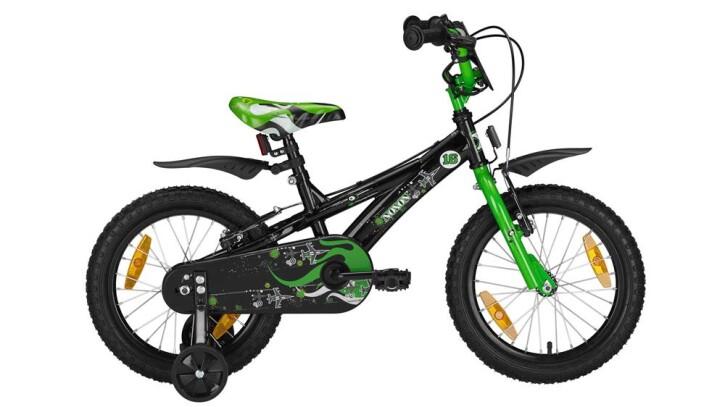 "Kinder / Jugend Noxon BMX 16"" black/green BMX 16"" 2019"