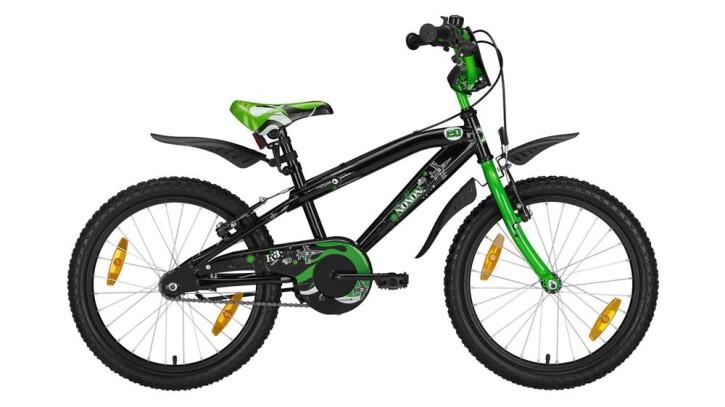 "Kinder / Jugend Noxon BMX 20"" black/green BMX 20"" 2019"