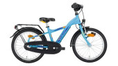 "Kinder / Jugend Noxon Bolt StVZO 18"" cyan blue matt Sporty 18"""