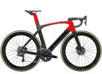 Rennrad Trek Madone SLR 9 Disc Schwarz Rot