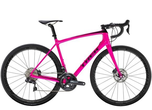 Rennrad Trek Émonda  SLR 7 Disc Women's Pink 2019