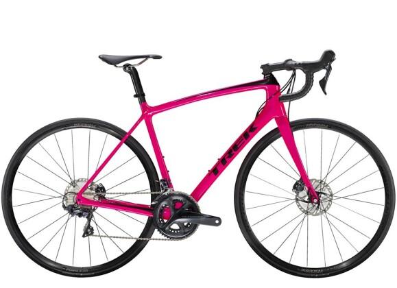 Rennrad Trek Émonda  SLR 6 Disc Women's Pink 2019