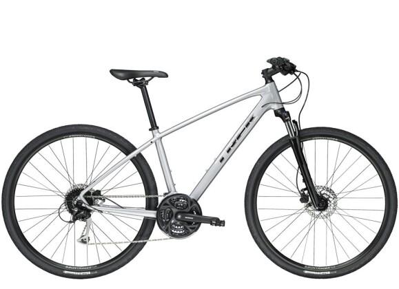 Crossbike Trek Dual Sport 3 Silber 2019
