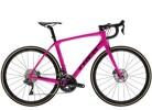 Rennrad Trek Domane SLR 7 Disc Women's Pink