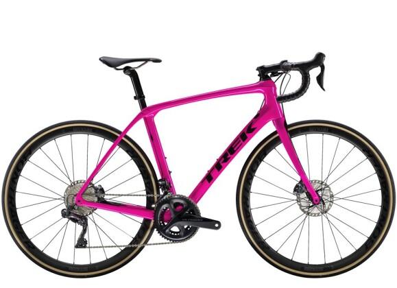 Rennrad Trek Domane SLR 7 Disc Women's Pink 2019
