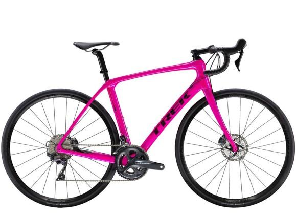 Rennrad Trek Domane SLR 6 Disc Women's Pink 2019