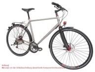 Trekkingbike Maxcycles Titanium 24 G Shim. Deore Mix