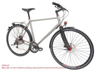 Trekkingbike Maxcycles Titanium 11 G Shim. Alfine Disc
