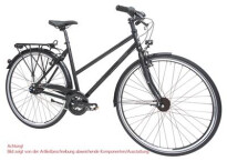 Citybike Maxcycles Steel Lite Trapez 24 G Shim. Deore Mix