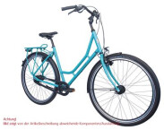 Citybike Maxcycles Münsterland 24 G Shim. Deore Mix