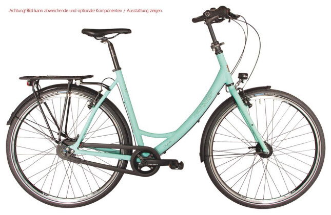 E-Bike Maxcycles City Lite 8 G Freilauf Ansmann 2019