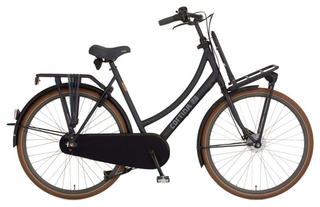 Lastenrad Cortina U4 Transport Denim Damenrad 2019