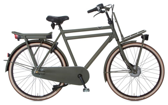 E-Bike Cortina E-U4 Transport Raw Herrenrad Stone 2019