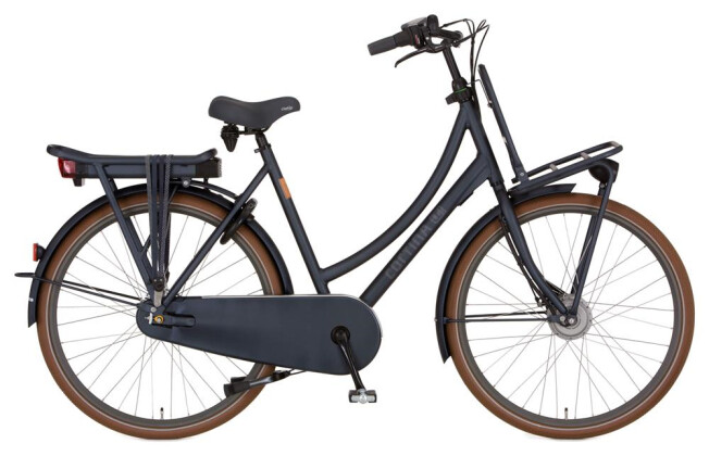 E-Bike Cortina E-U4 Transport Denim Damenrad 2019