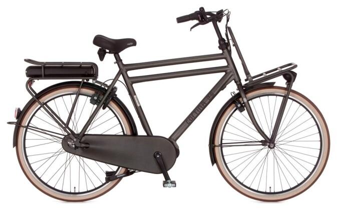 E-Bike Cortina E-U4 Transport Raw Herrenrad 2019