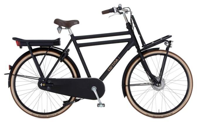 E-Bike Cortina E-U4 Transport Herrenrad 2019