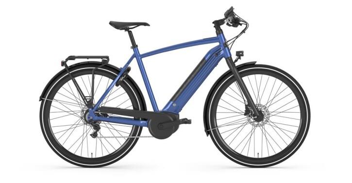 E-Bike Gazelle CityZen C8+ HMB H Tropical blue 2019
