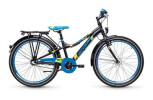 Kinder / Jugend S´cool Emoji Dirt 24-3 black/blue matt