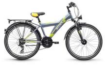 Kinder / Jugend S´cool XYlite steel 24 21-S darkgrey/lemon matt