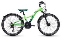 Kinder / Jugend S´cool XXlite steel 24 21-S neon green