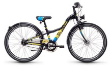 Kinder / Jugend S´cool XXlite steel 24 7-S black/yellow matt