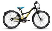 Kinder / Jugend S´cool XXlite steel 24 3-S black/yellow matt