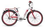 Kinder / Jugend S´cool chiX alloy 24 7-S white/red