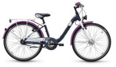Kinder / Jugend S´cool chiX alloy 24 7-S darkgrey/violett matt