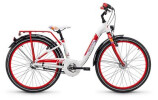 Kinder / Jugend S´cool chiX alloy 24 3-S white/red