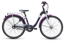 Kinder / Jugend S´cool chiX alloy 24 3-S darkgrey/violett matt
