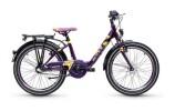 Kinder / Jugend S´cool Emoji Wave 20-3 violet/yellow