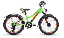 Kinder / Jugend S´cool troX urban 20 7-S neon green