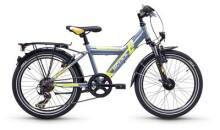 Kinder / Jugend S´cool XYlite steel 20 7-S darkgrey/lemon matt